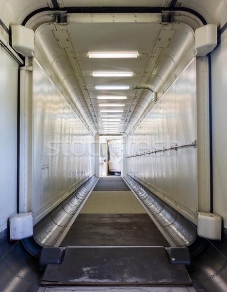 Stok fotoğraf: Yürüyüş · düzlem · seçici · odak · kapı · teknoloji · Metal