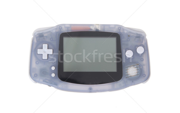 Old dirty portable game console with a small screen Stock photo © michaklootwijk