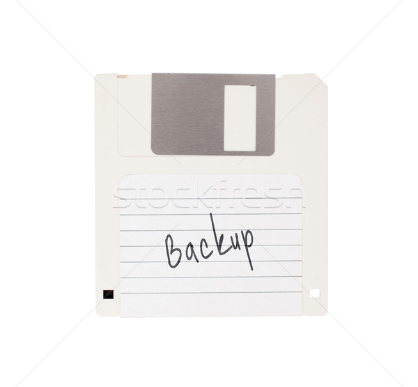 Floppy Disk - Tachnology from the past, isolated on white Stock photo © michaklootwijk