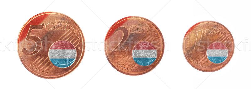 Europese unie vlag Luxemburg cash Europa Stockfoto © michaklootwijk