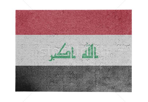 Large jigsaw puzzle of 1000 pieces - Iraq Stock photo © michaklootwijk