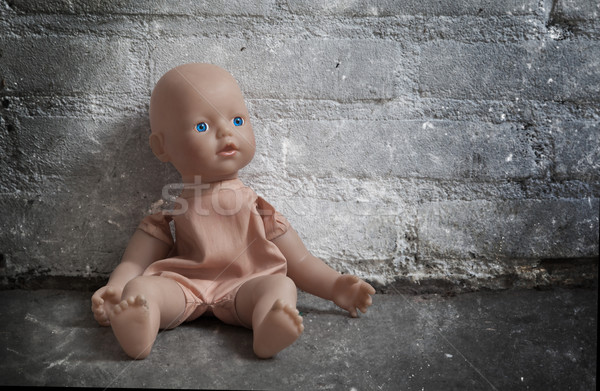 Abandoned doll Stock photo © michaklootwijk