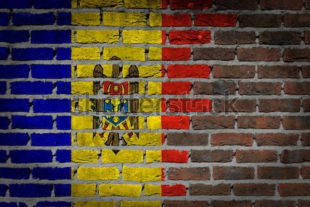 Dark brick wall - LGBT rights - Norway Stock photo © michaklootwijk