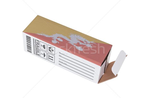 Eksport produktu Bhutan papieru polu Zdjęcia stock © michaklootwijk
