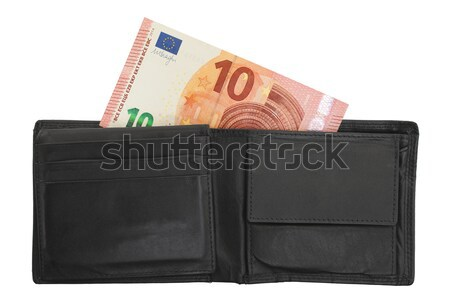 US one Dollar bill in a wallet, close up  Stock photo © michaklootwijk