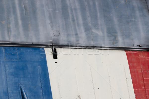 作品 航空機 グランジ 金属 古い ストックフォト © michaklootwijk