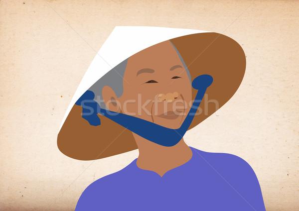 Portrait of a Vietnamese woman Stock photo © MichalEyal
