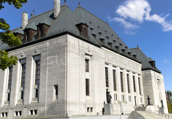 Supreme Court of Canada Stock photo © michelloiselle
