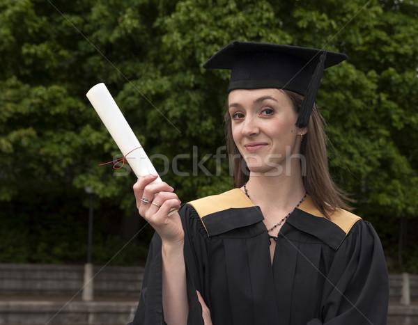 Grad Happy Stock photo © michelloiselle