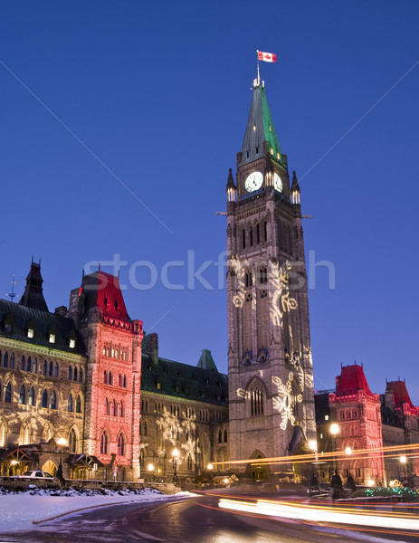 Festive Parliament Stock photo © michelloiselle