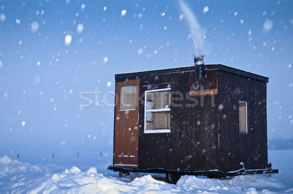 Cold Fishing Stock photo © michelloiselle