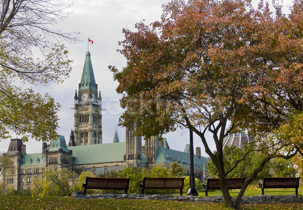 Fall Peace Tower Stock photo © michelloiselle