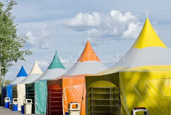 Colorful Tents Stock photo © michelloiselle