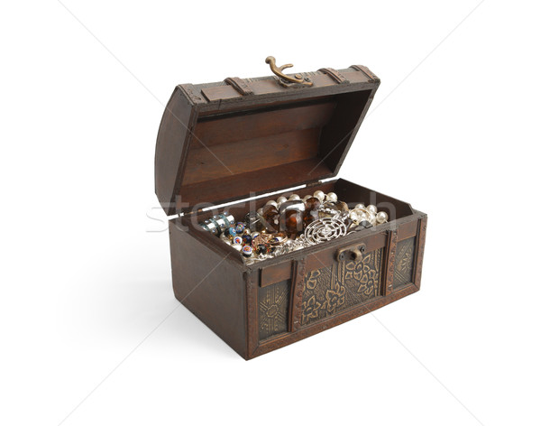 Woman's treasure chest Stock photo © michey