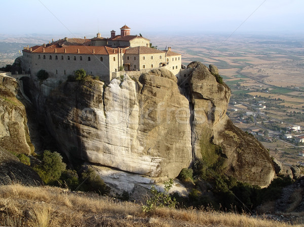 Agios Stefanos Monastery in Meteora Stock photo © michey