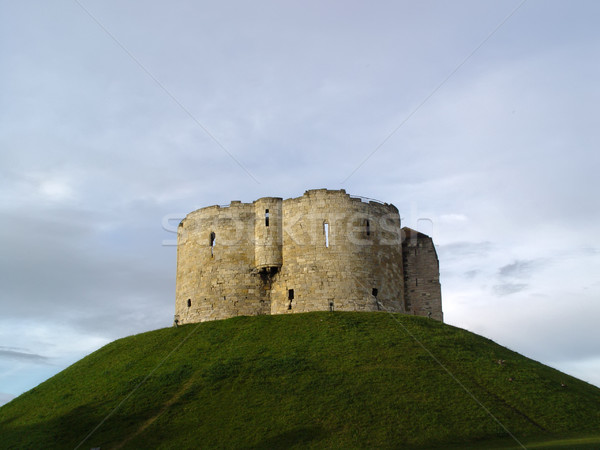 Clifford's Tower, York Castle Stock photo © michey