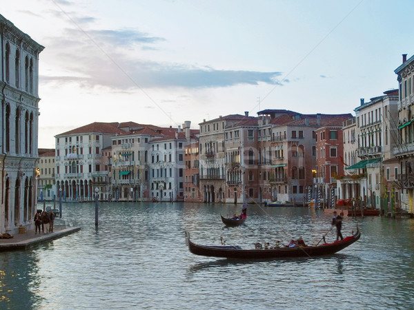 Evening in Venice. Stock photo © michey