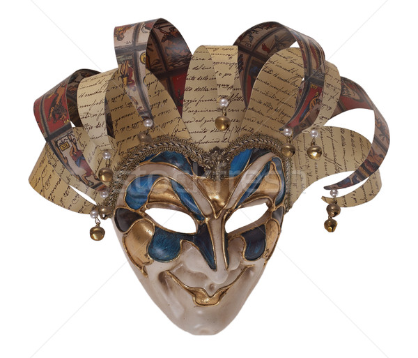 Harlequin mask Stock photo © michey