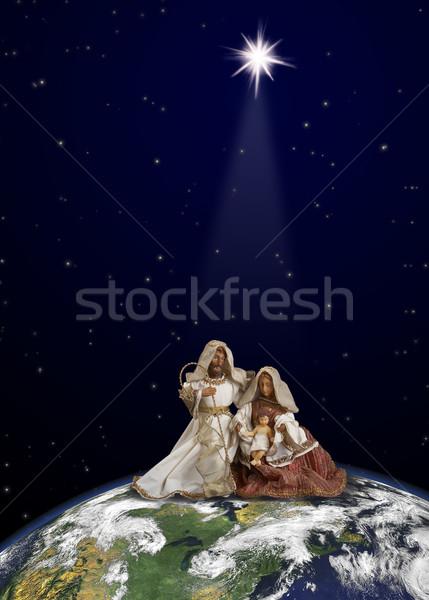 Christmas world Stock photo © michey