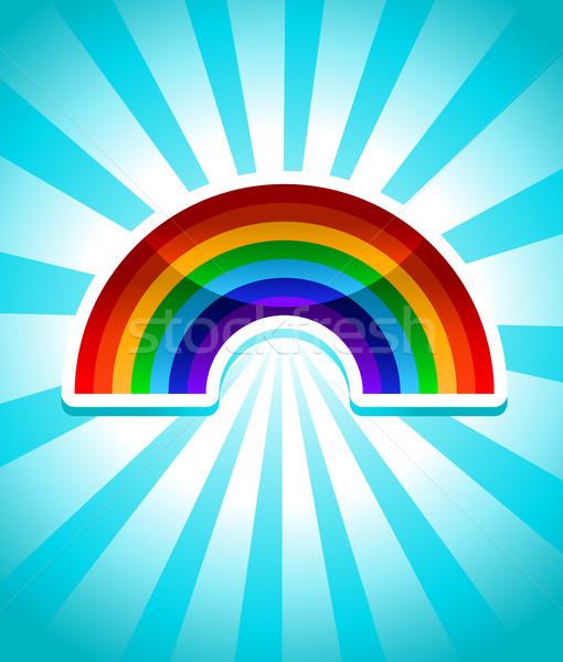Colorful Rainbow Icon Stock photo © Mictoon