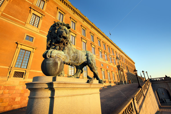 Sweden, Stockholm, old town Stock photo © mikdam