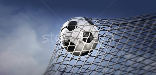 soccer ball Stock photo © mikdam