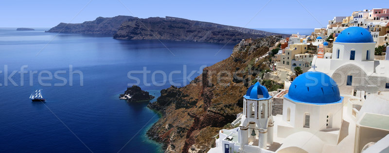 Santorini Stock photo © mikdam