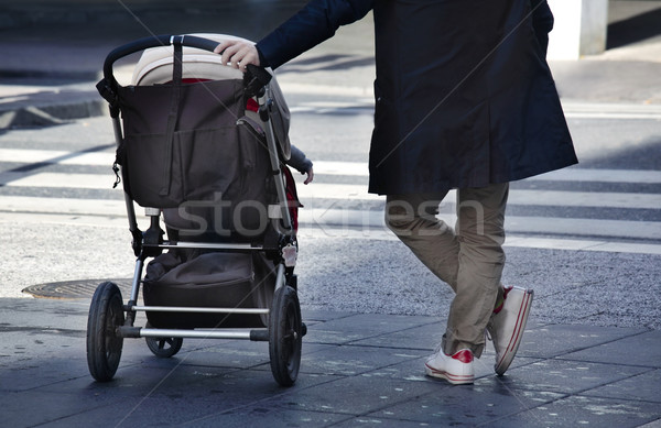 man  with child  Stock photo © mikdam