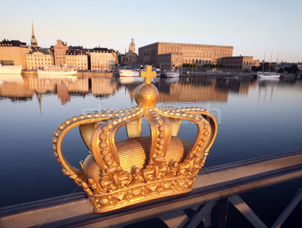 Stockholm şehir Stok fotoğraf © mikdam