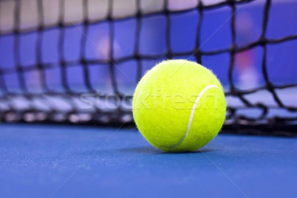 Bola de tênis quadra de tênis esportes tênis bola branco Foto stock © mikdam