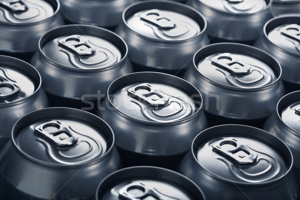 Aluminum cans Stock photo © mikdam