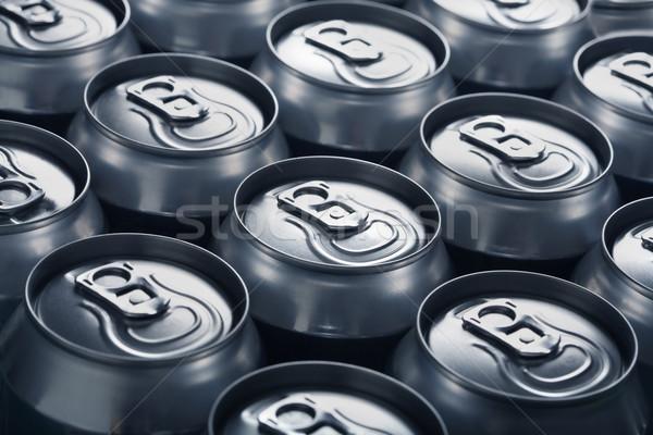Alumínium sör gyár hideg modern új Stock fotó © mikdam