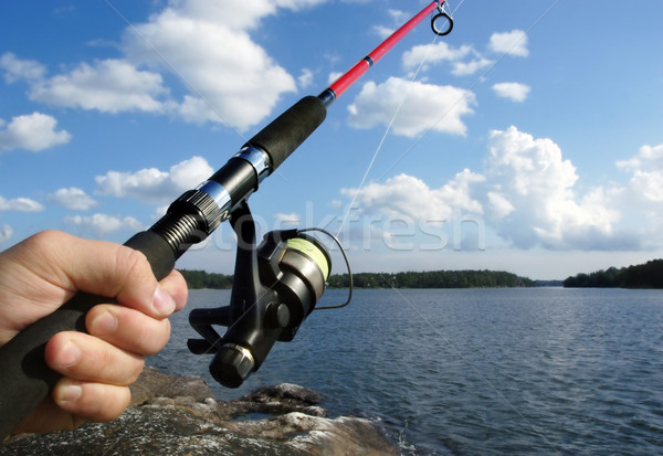 fishing Stock photo © mikdam