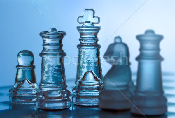 chessmen Stock photo © mikdam