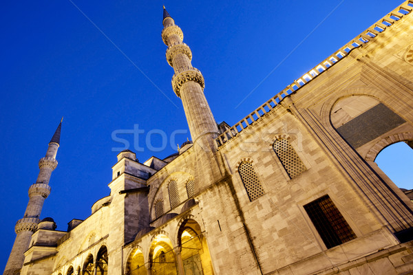 Blue mosque Istanbul Stock photo © mikdam