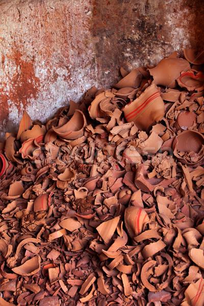 Turco feito à mão quebrado arte padrão antigo Foto stock © mikdam