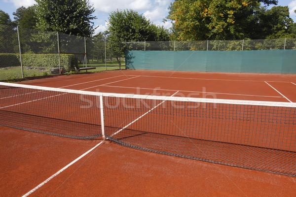 теннисный корт спорт фитнес здоровья фон лет Сток-фото © mikdam