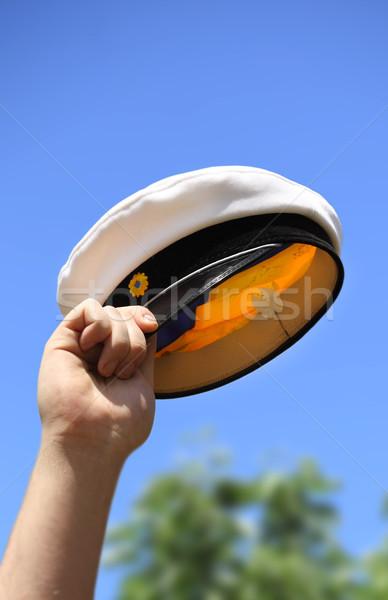 Swedish graduation hat Stock photo © mikdam