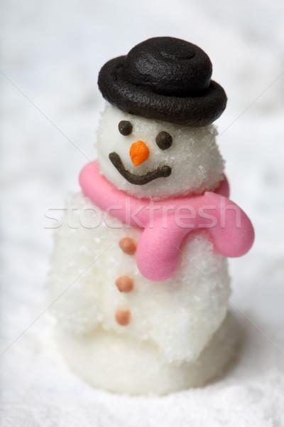 The Snow Man Stock photo © mikdam