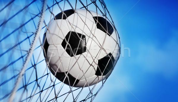 Soccer ball Foto d'archivio © mikdam