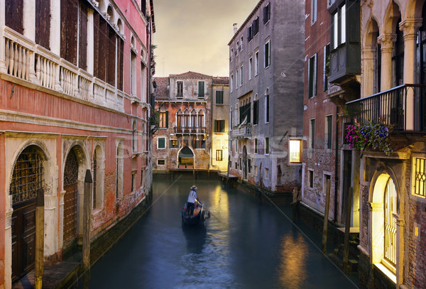 Traditional Venice gondola ride  Stock photo © mikdam
