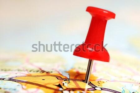 Push pin Stock photo © mikdam