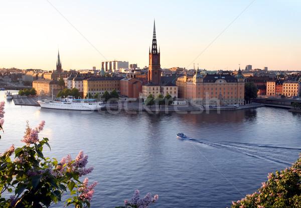 Stockholm Stock photo © mikdam