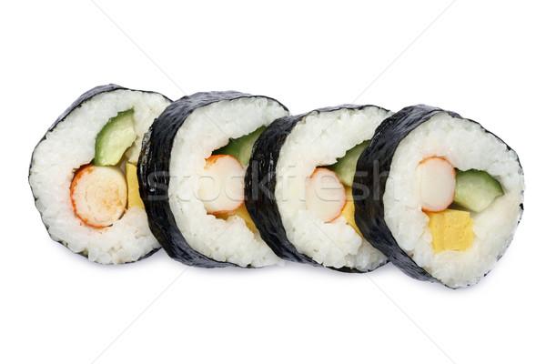 Japanese sushi roll Stock photo © mikdam
