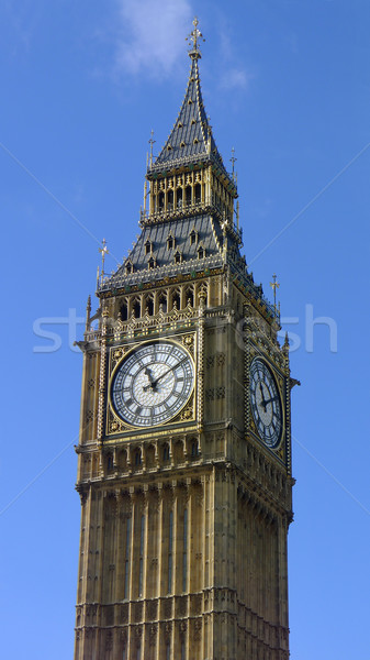 Big Ben Londen klok Europa Engeland toerisme Stockfoto © mikdam