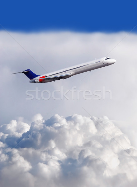 Airplane  Stock photo © mikdam