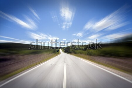 Open Road Stock photo © mikdam