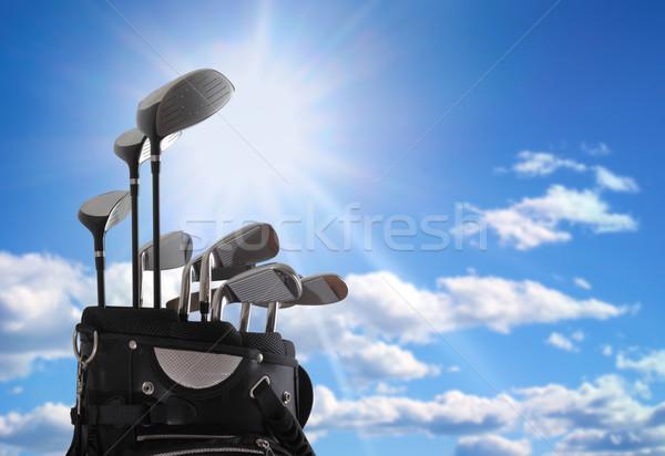 close-up of a golf bag Stock photo © mikdam