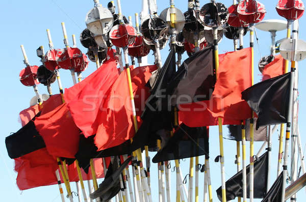Flags for Fishing Net  Stock photo © mikdam