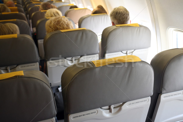 Aircraft interior  Stock photo © mikdam